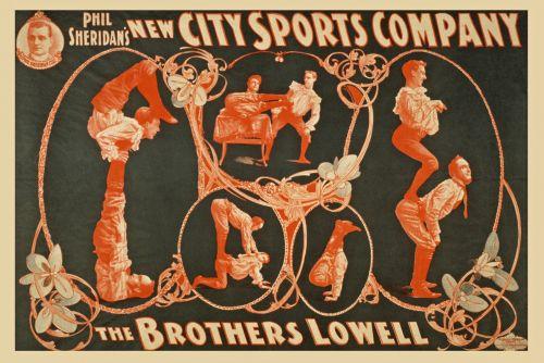 Vintage Sports Company Poster
