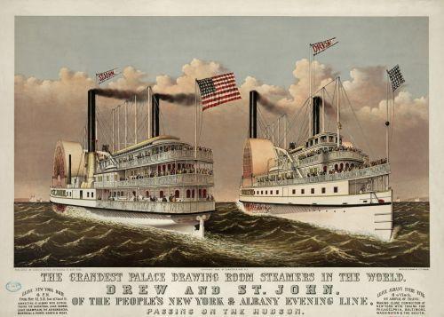 Vintage Steam Ships