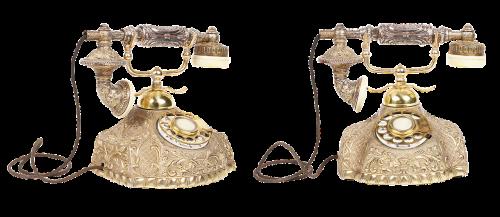 vintage telephone phone old