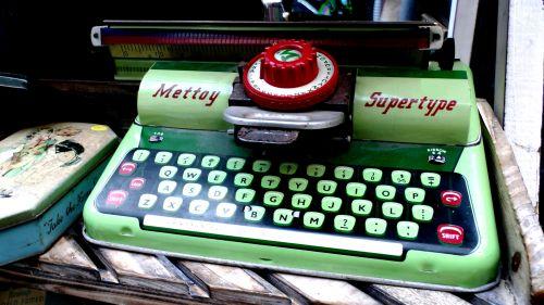 Vintage Toy Typewriter
