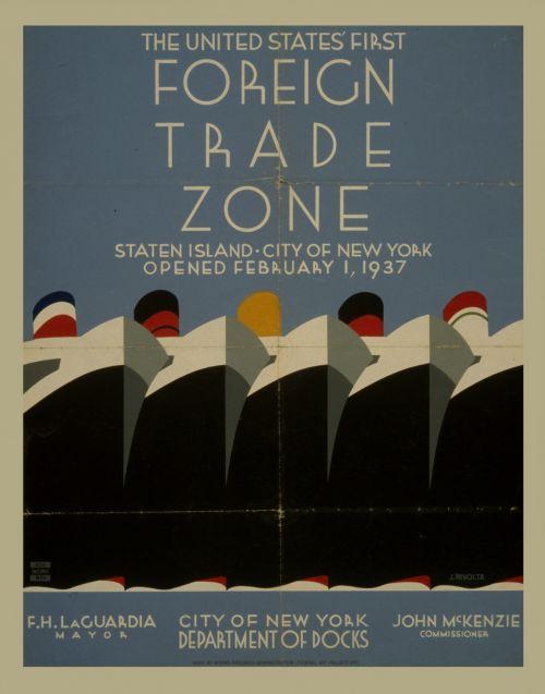 Vintage Trade Poster