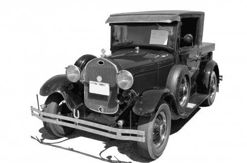 pikapas & nbsp, sunkvežimis, sunkvežimis, vintage, Senovinis, atkurta, retro, Rodyti, nostalgija, derlius sunkvežimis