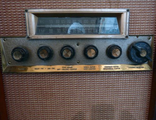 Vintage TV Control Knobs