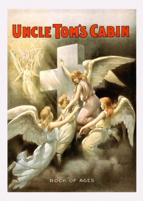 Vintage Uncle Toms Cabin Poster