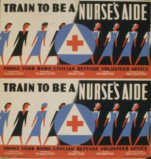 Vintage Volunteer Poster