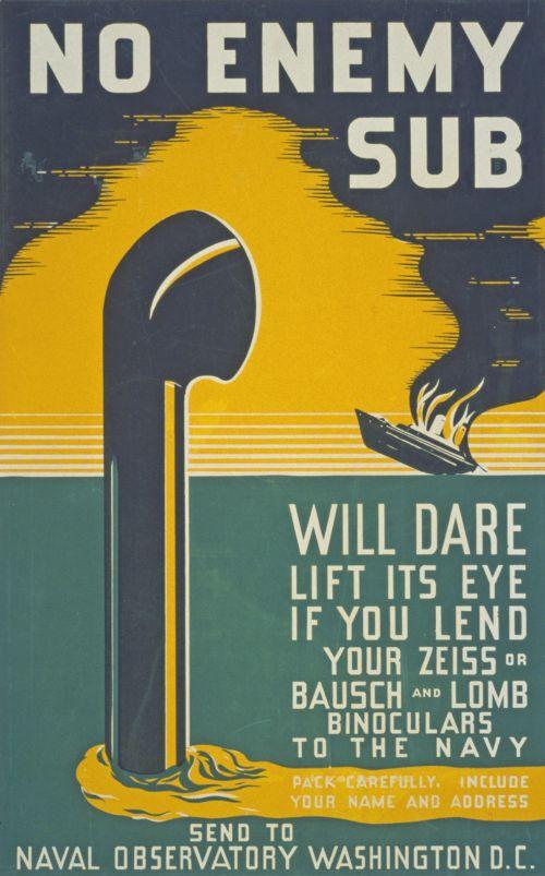 Vintage War Poster