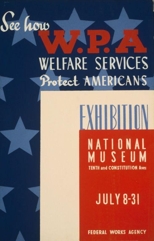 Vintage Welfare Poster