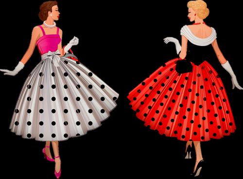 vintage women  1950's  sexy