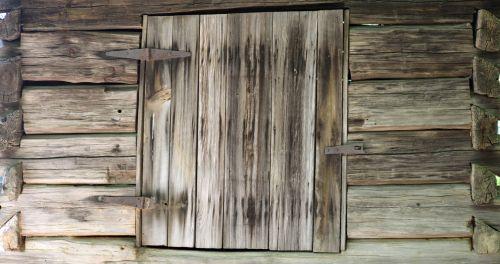 Vintage Wood Shed