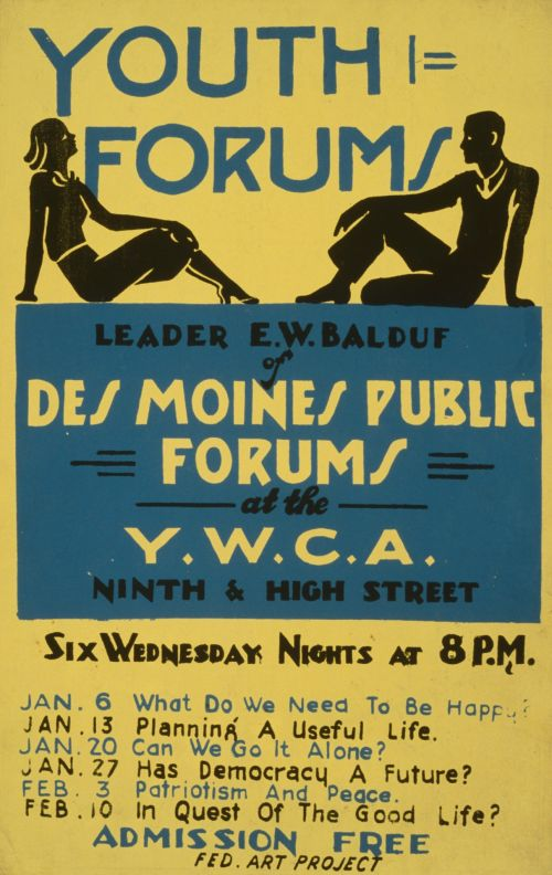Vintage Youth Forum Poster