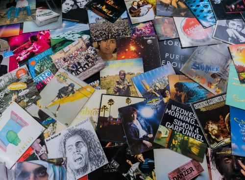 vinyl records music