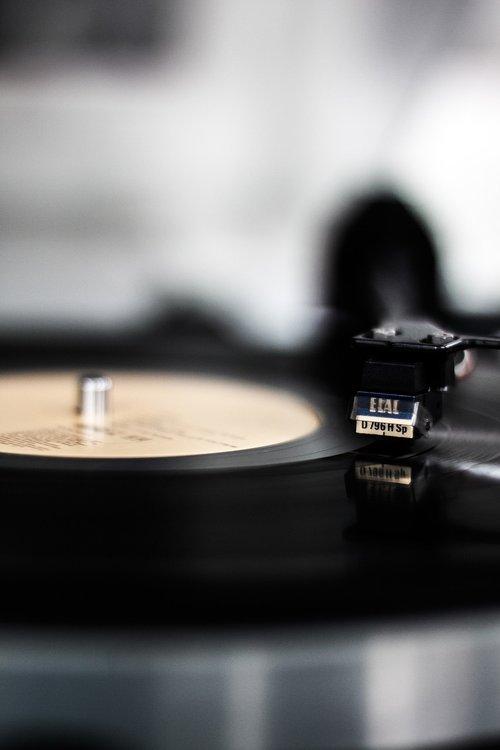 vinyl  record  plate