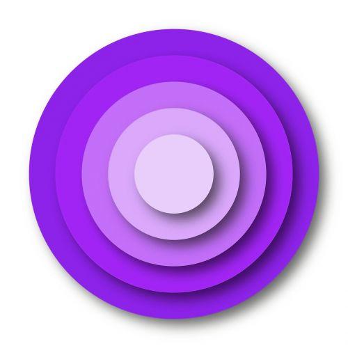 violet rings target