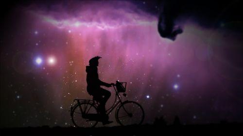 violet bike bicycle