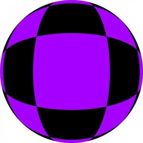 Violet Black Ball