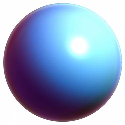 Violet Blue Ball