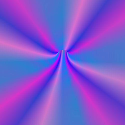 Violet Blue Tunnel
