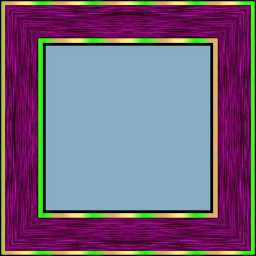 Violet Frame 4