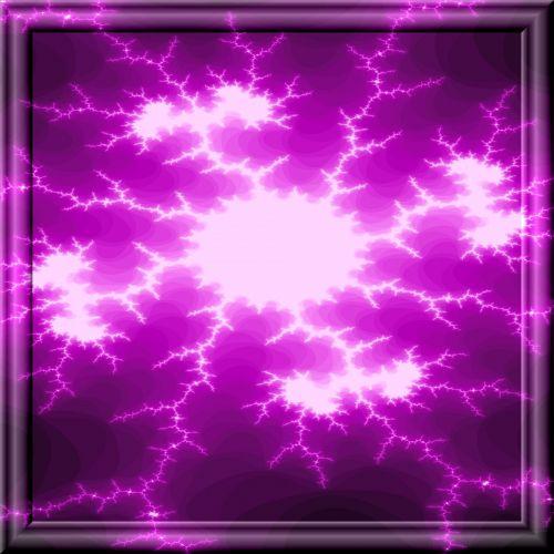 Violet Medusa Fractal