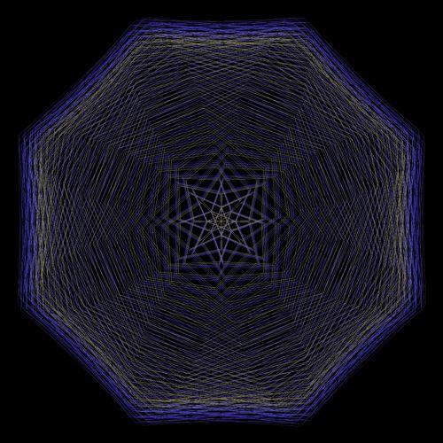 Violet Octagon