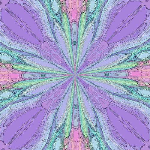 Violet Outline