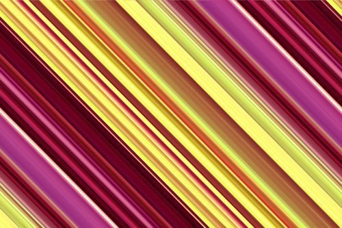 Violet Yellow Stripes Background