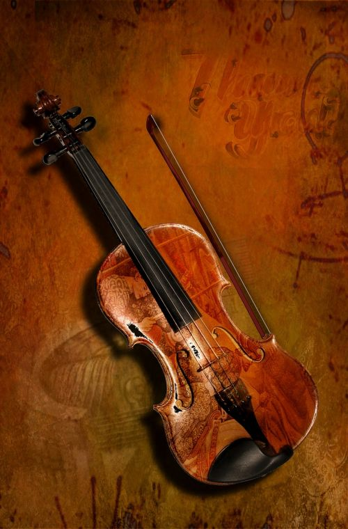 violin music background