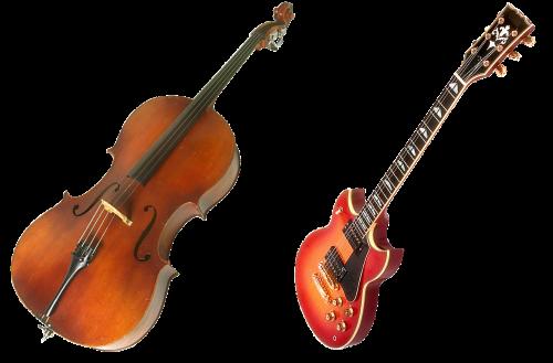 violin guitar bow