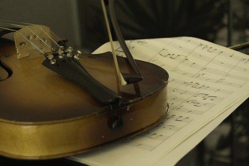 violin  music sheet  violin arc