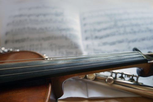 violin  flute  music