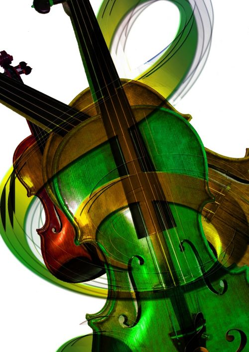violin listen sound
