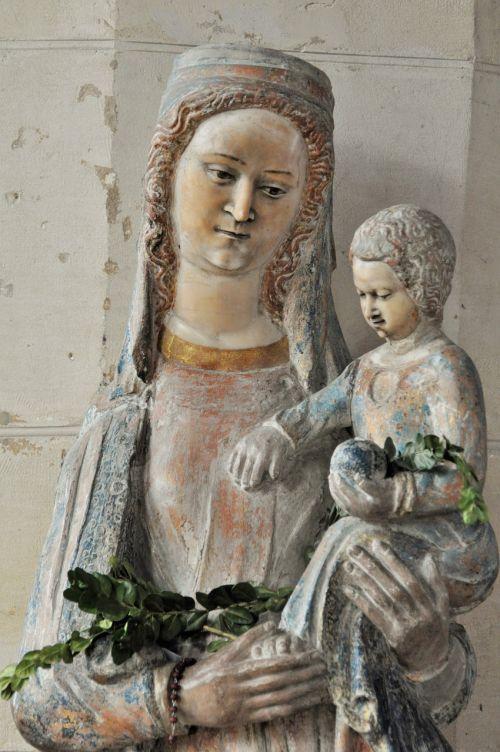 virgin statue religion