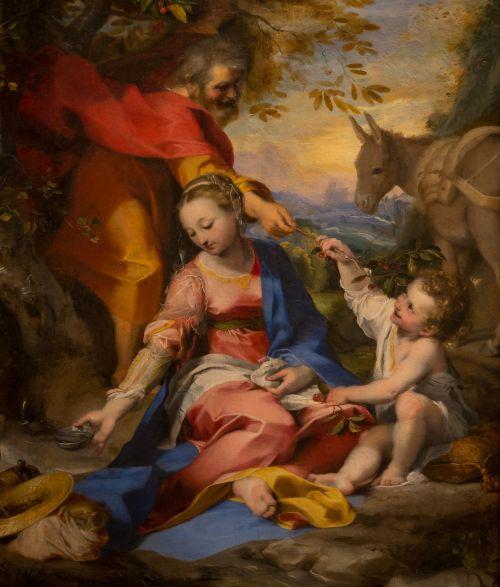 virgin mary holy sacred family