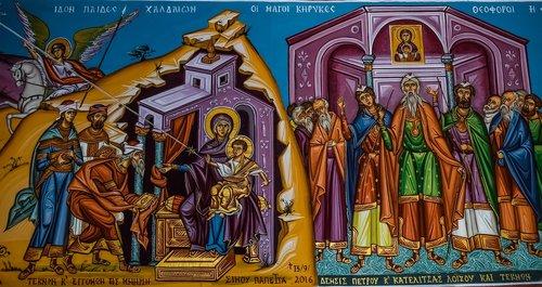 virgin mary  jesus christ  wizards