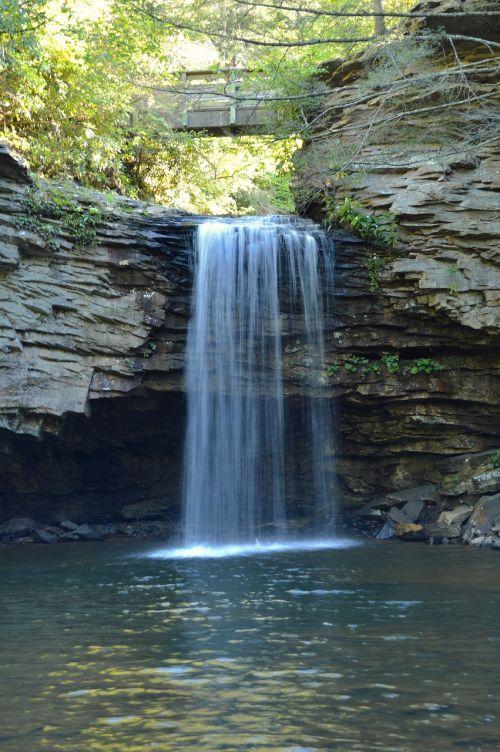 virginia waterfall mountains