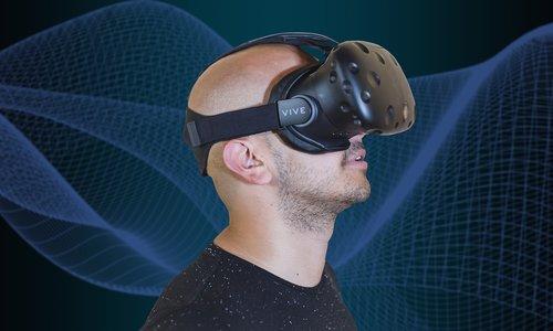 virtual reality  technology  futuristic