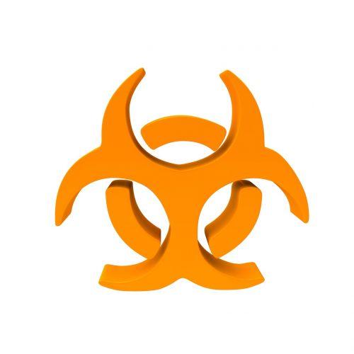 virus symbol epidemic