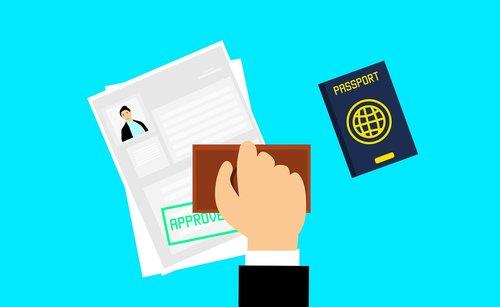 visa  approved  journey