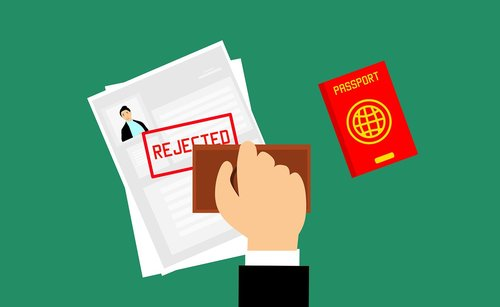 visa  rejected  journey
