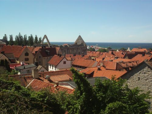 visby sweden town