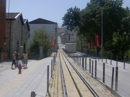 viseu train landscape