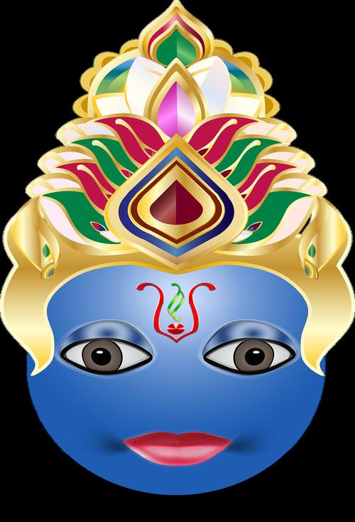 vishnu  hindu  emoticon