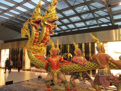 vishnu kurmavatara thailand airport bombay