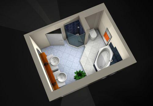 wellness visualization 3d object