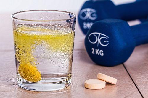 vitamin b effervescent tablet