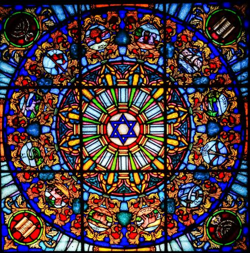vitrage stained glass window