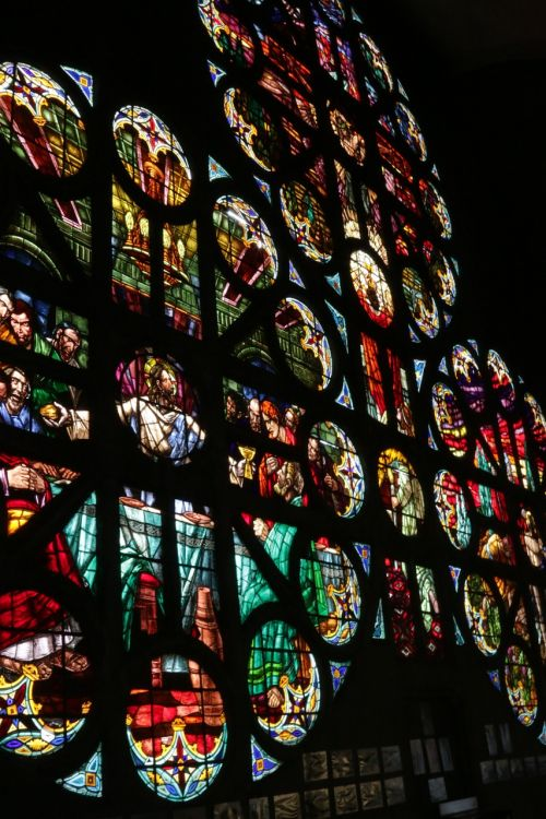 vitral mosaico catedral