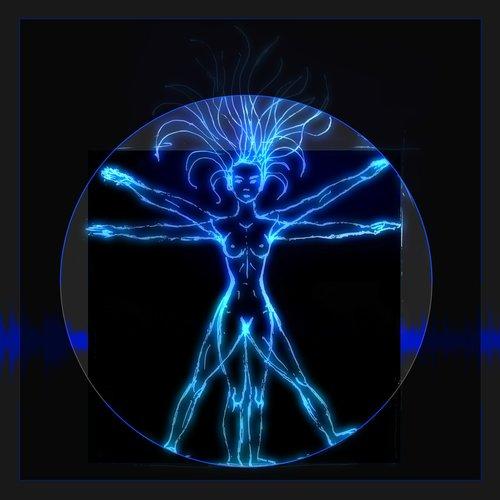 vitruvian man  neon  music