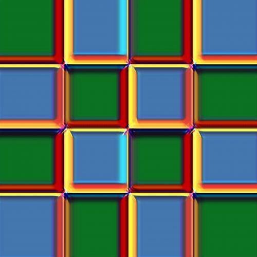Vivid Color Checkerboard
