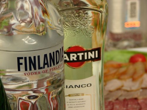 vodka martini food